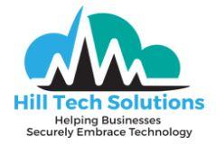 Hill tech solutions logo